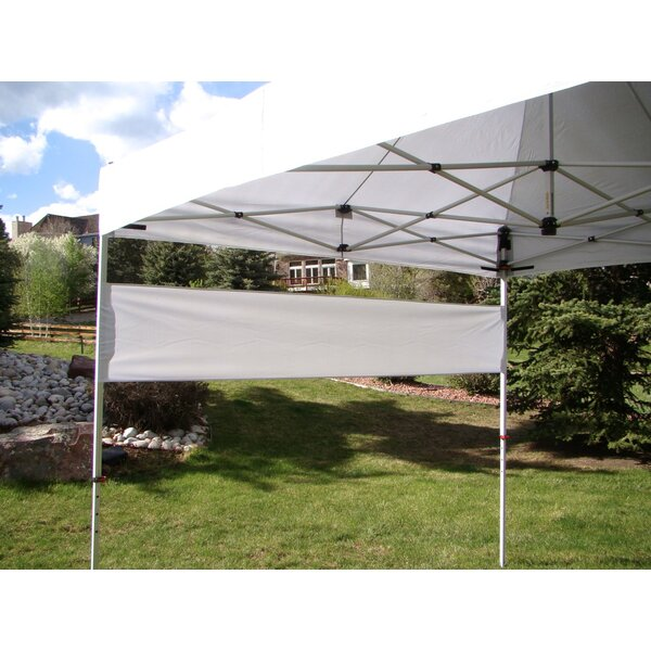 Professional Grade Canopy with Leg Covers and Banner Wall by UnderCover