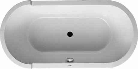 Starck 63'' x 32'' Freestanding Soaking Bathtub by Duravit