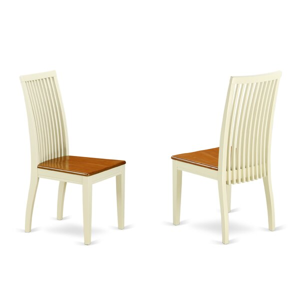 Gladney Solid Wood Dining Chair (Set of 2) by Charlton Home