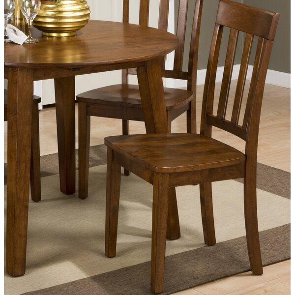 Antrim Solid Wood Dining Chair (Set of 2) by Alcott Hill