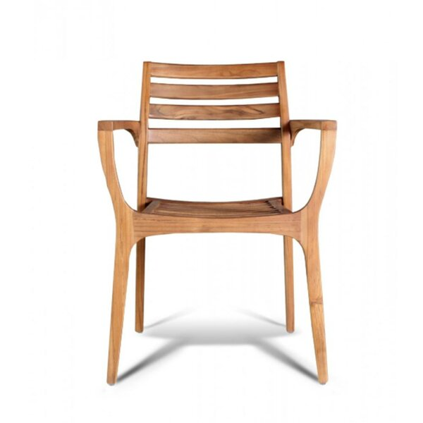 Stacking Teak Patio Dining Chair by GAR GAR