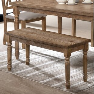 Devonte Dining Wood Bench