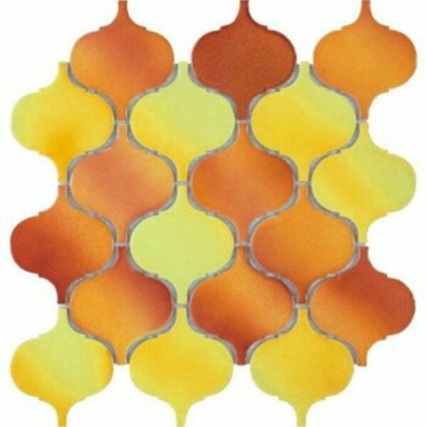 Hulu 10 x 10 Natural Stone Mosaic Tile