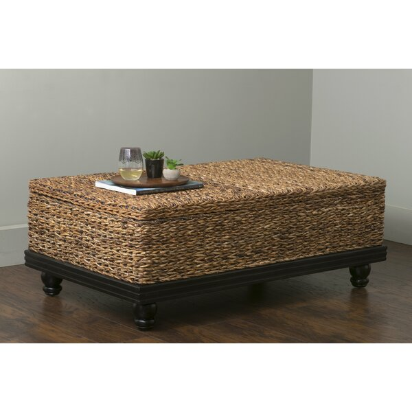Marilee Small Coffee Table with Storage by Beachcrest Home