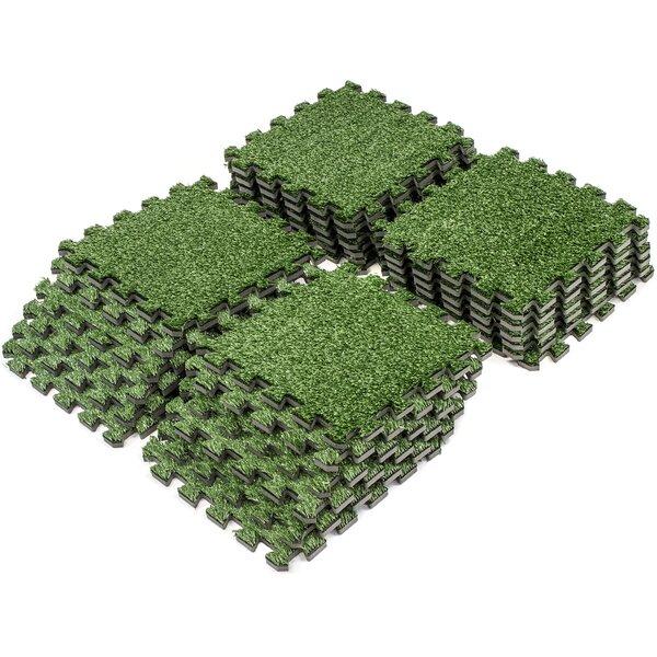 Interlocking 24 Piece Floor Mat (Set of 24) by Sorbus