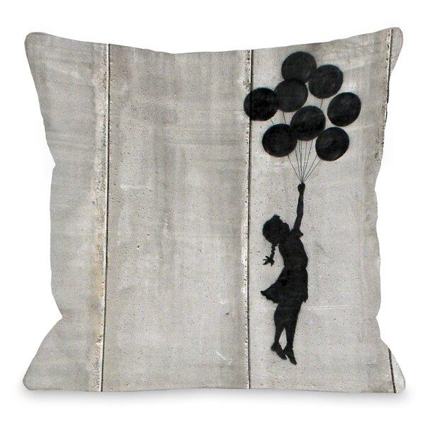 Balloon Throw Pillow by One Bella Casa