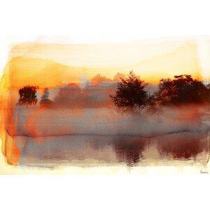 'Pine Ridge' by Parvez Taj Painting Print on Wrapped Canvas by Parvez Taj