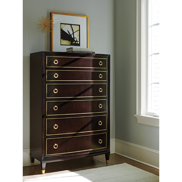 Carlyle 6 Drawer Chest by Lexington