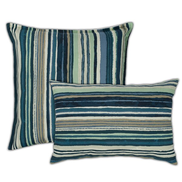 Lakeview Outdoor 2 Piece Pillow Set by Sherry Kline