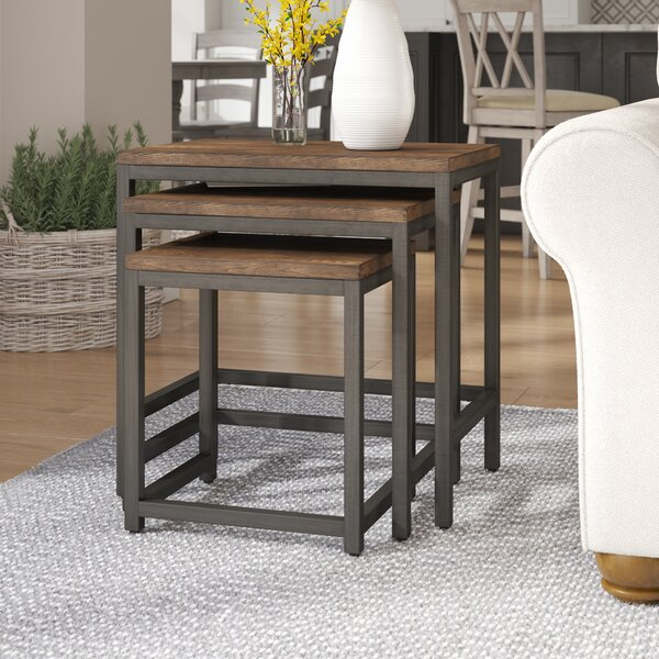 Ekalaka 3 Piece Nesting Tables by Laurel Foundry M