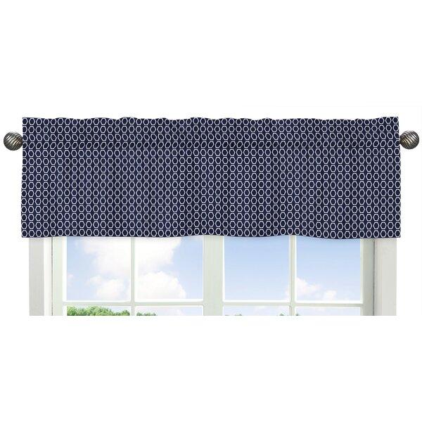 Arrow Hexagon Print Curtain Valance by Sweet Jojo Designs