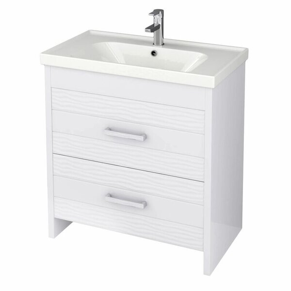 Lotus 31 Single Bathroom Vanity Set by Nameeks Vanities