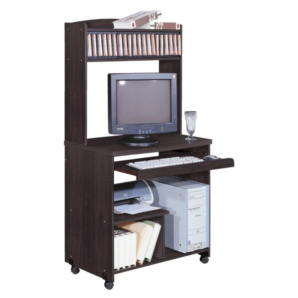 Houlihan Computer Cart With Casters by Red Barrel Studio