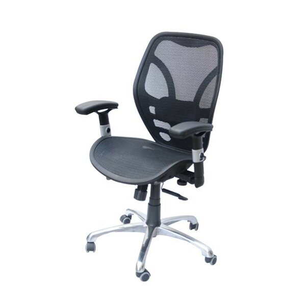 homcom deluxe ergonomic high-back mesh desk chair & reviews | wayfair