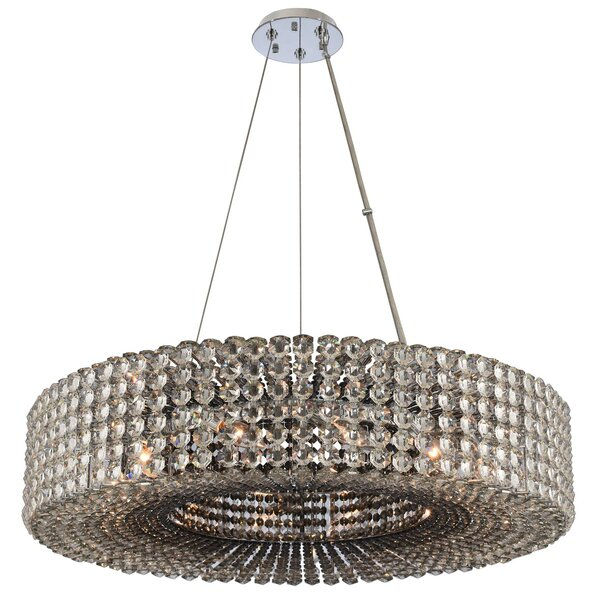 Anello 12-Light Crystal Chandelier by Allegri by Kalco Lighting