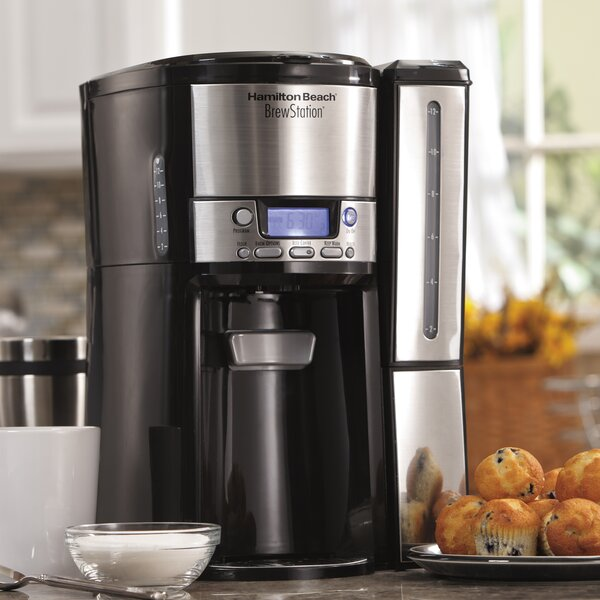BrewStation 12-Cup Dispensing Coffee Maker by Hamilton Beach