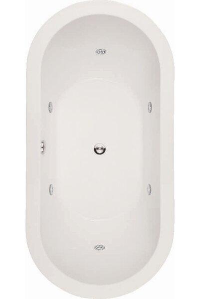 Designer Elle 72 x 36 Soaking Bathtub by Hydro Systems