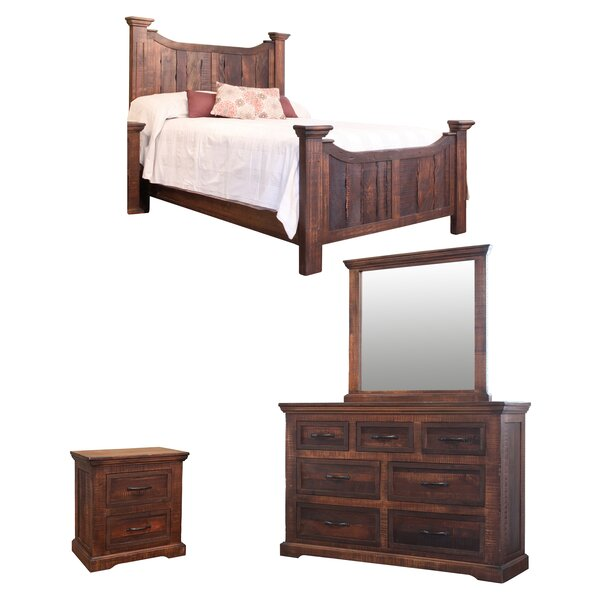 Panel Configurable Bedroom Set by Artisan Home Furniture