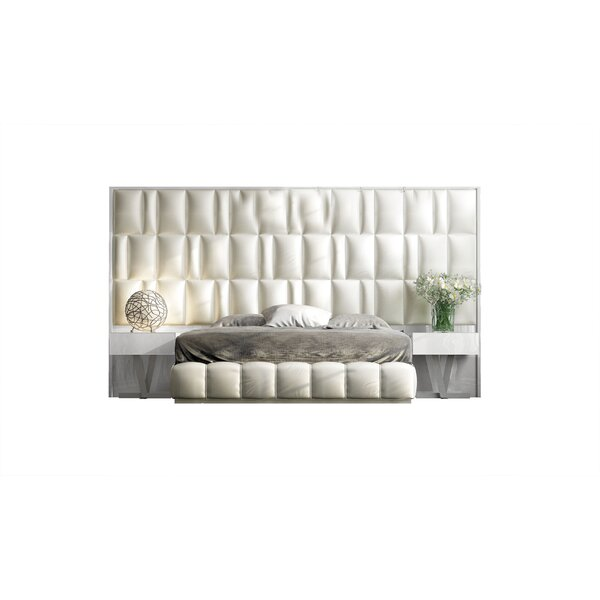 Helotes Upholstered Standard Bed By Orren Ellis by Orren Ellis Purchase