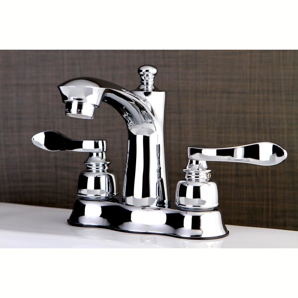 NuWave French Centerset Lavatory Faucet with Drain Assembly by Kingston Brass