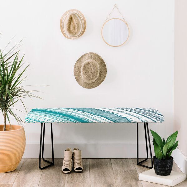 Wonder Faux Leather Bench By East Urban Home