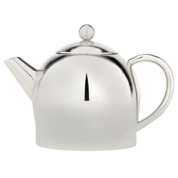 Stainless Steel 1 Lt Double Wall Teapot by Cuisinox
