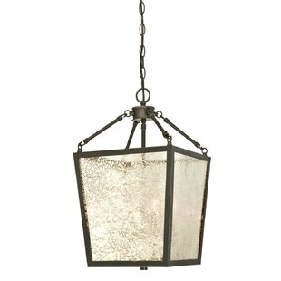 4-Light Lantern Pendant by Darby Home Co