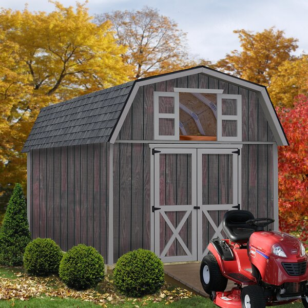 Woodville Solid Wood Storage Shed by Best Barns