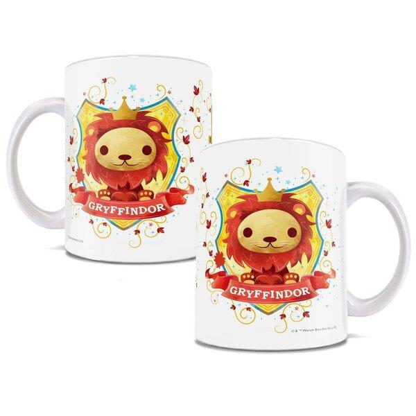 Harry Potter Gryffindor Chibi Cute Geek Coffee Mug by Trend Setters