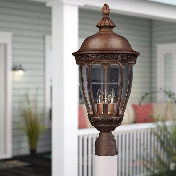 Diahann Outdoor 1-Light Lantern Head by World Menagerie