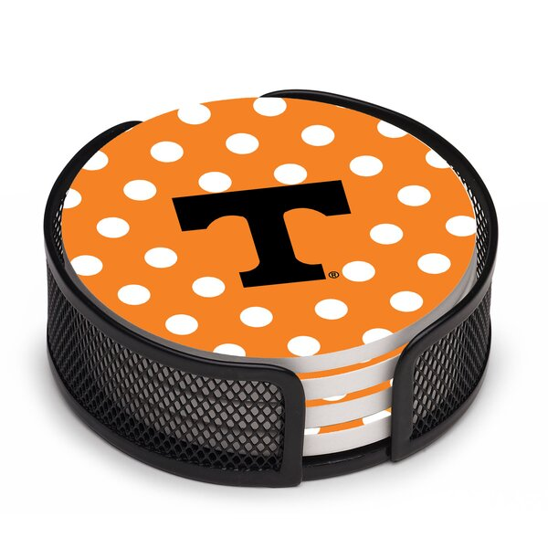 University of Tennessee Dots Collegiate Coaster by Thirstystone