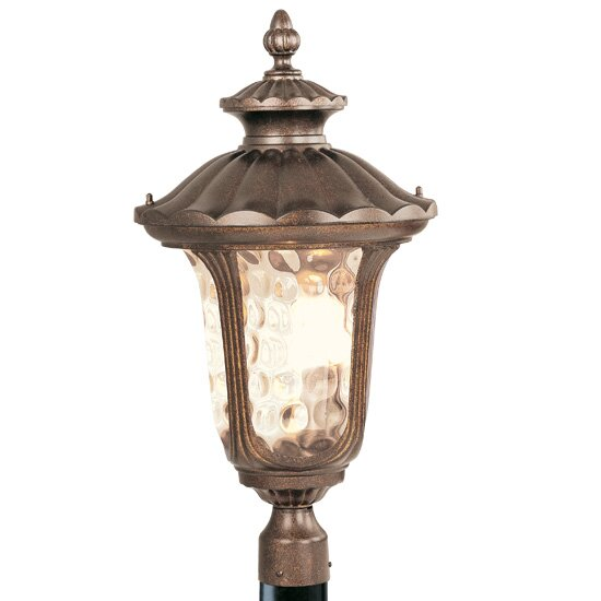 Gunnell Outdoor 3-Light Post Light by Three Posts