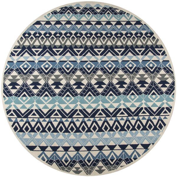 Aderdour Blue Area Rug by Bungalow Rose