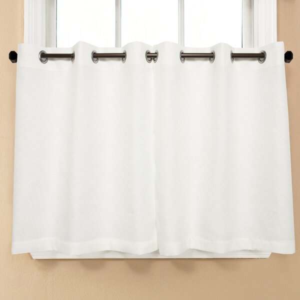 Montego Grommet Tier Curtains Wayfair
