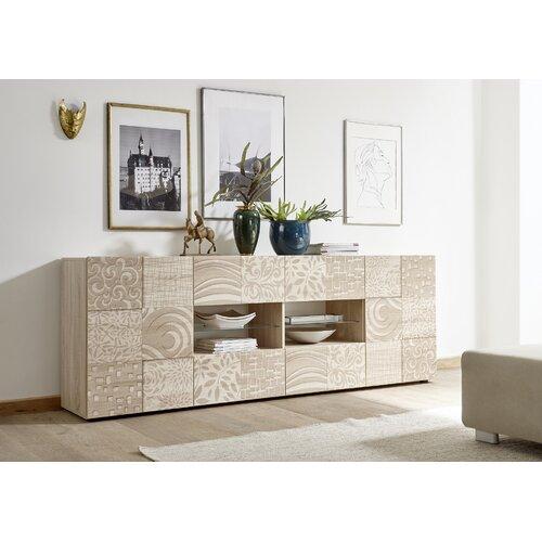 Itchington Sideboard Brayden Studio Colour Samoa Oak