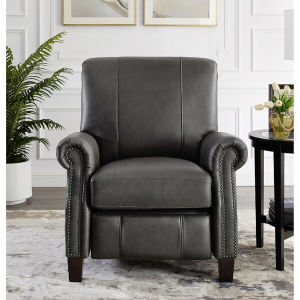 Yager Premium Leather Manual Recliner W001609069