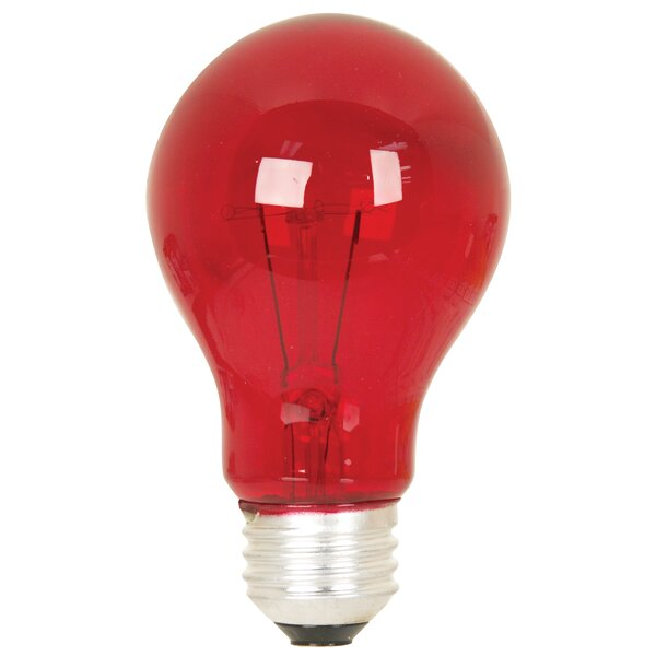 25W Red 120-Volt Incandescent Light Bulb by FeitElectric