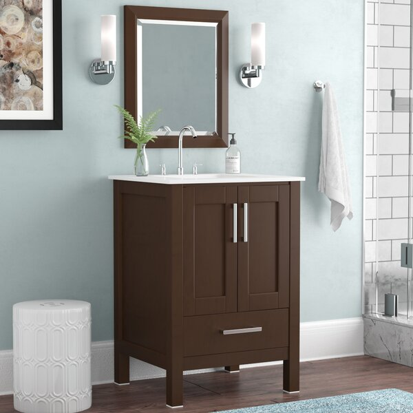 Arnab Transitional 24 Single Bathroom Vanity Set by Latitude Run