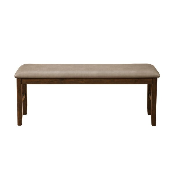 Provencher Upholstered Wood Dining Bench by Winston Porter
