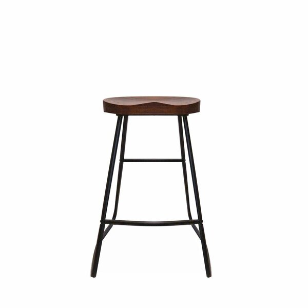 Solid Wood 30'' Stool (Set of 2) by 17 Stories 17 Stories