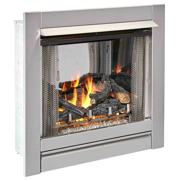 Outdoor Vent-Free Natural Gas Fireplace By Duluth Forge