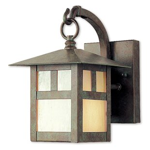 Compare Giles 1-Light Outdoor Wall Lantern By Alcott Hill
