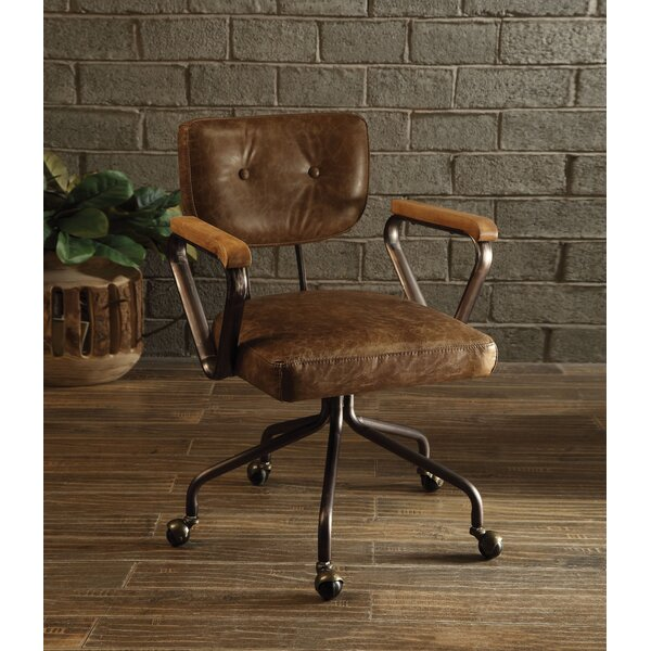 Kirkham Genuine Leather Executive Chair