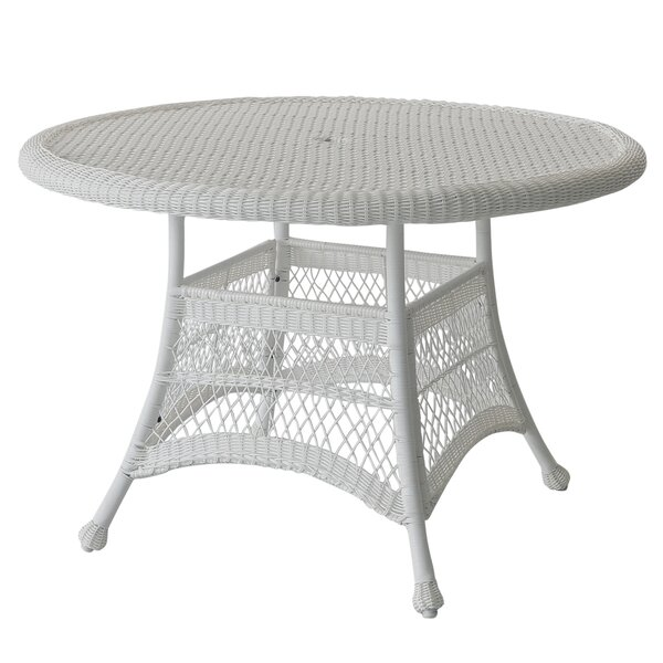 Starcher Wicker Dining Table by Charlton Home Charlton Home