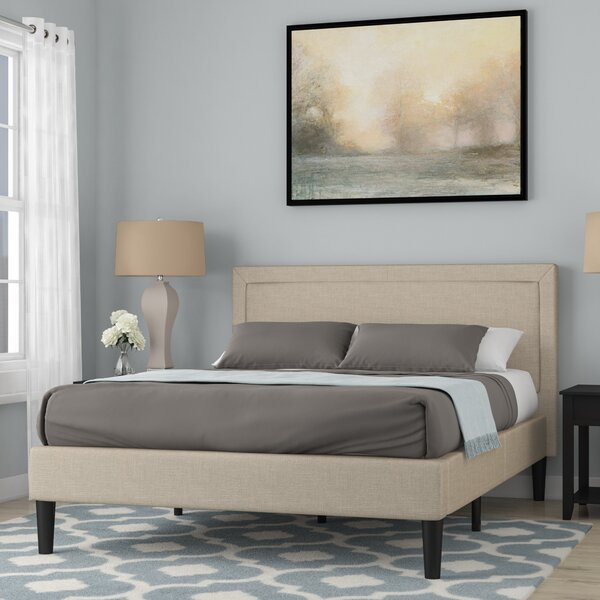 Turley Upholstered Platform Bed by Gracie Oaks
