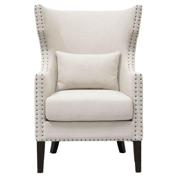 Abbie Wingback Chair by Rosdorf Park