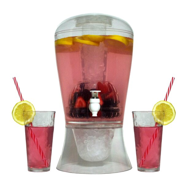Infused 256 oz. Beverage Dispenser by Symple Stuff