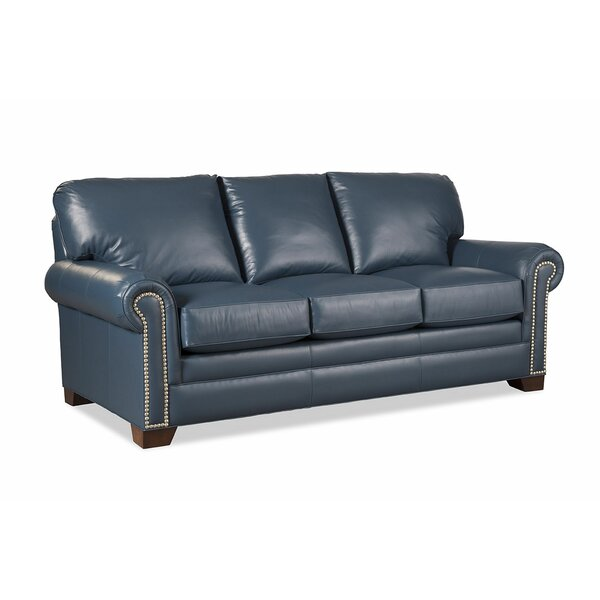 Copola Leather Sofa By Craftmaster