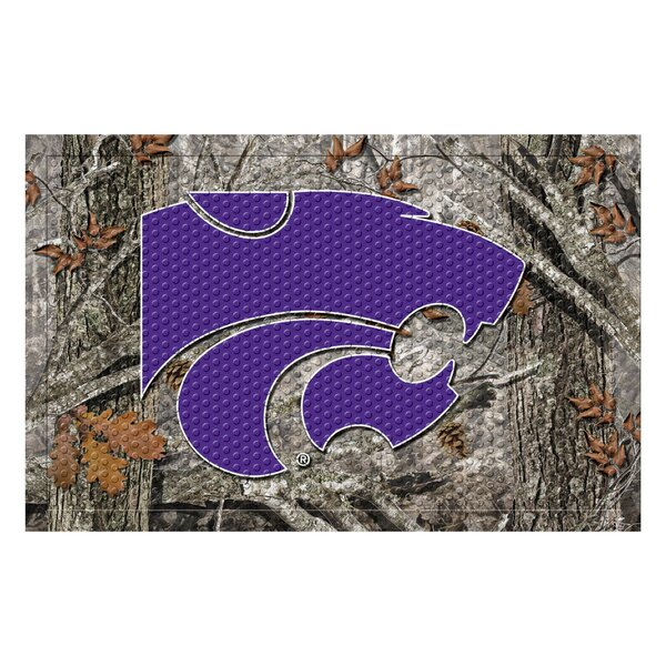 Kansas State University Doormat by FANMATS