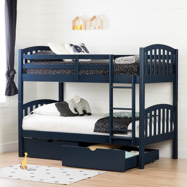 Bunk Bed with Storage Drawers by Three Posts Teen